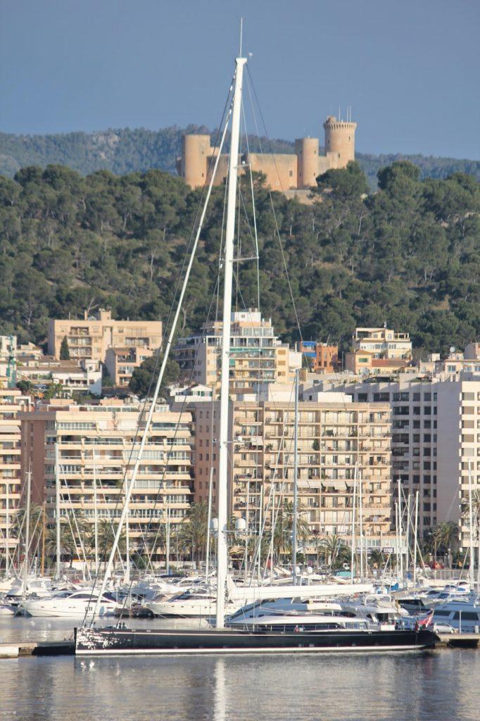 Super Sail Yacht in Palma
