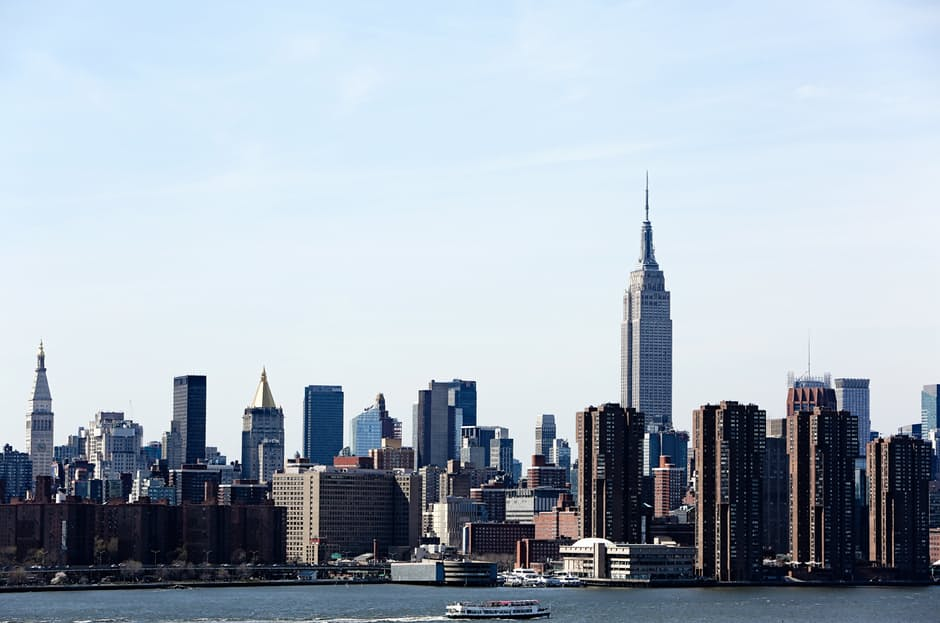 New York's skyline and your yacht charter have lots in common