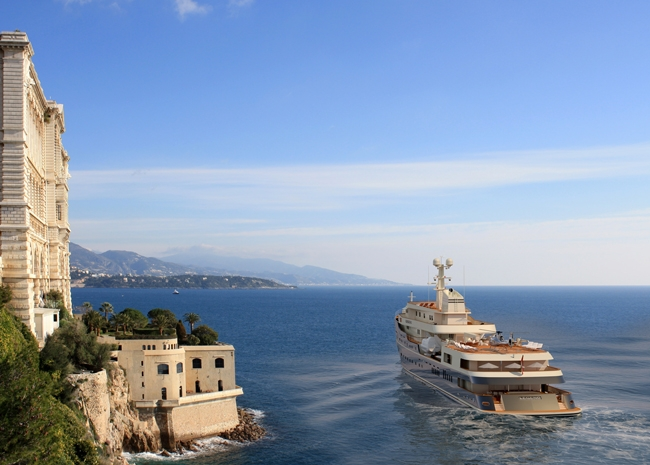 How about calling in at Monaco Yacht Show in September!?