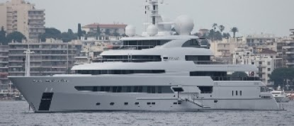 Super Yacht PEGASO, a 73.6m boat with sumbarine & helipad