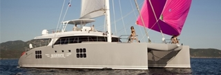Sailing catamaran Maverick
