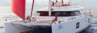Sailing catamaran Muse