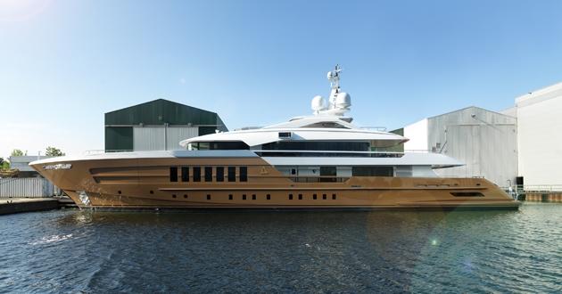Heesen Yachts delivers YN 17255, M/Y Azamanta, 55m Fast