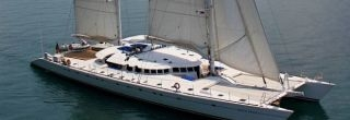 LUXURY CREWED SAILING CATAMARAN