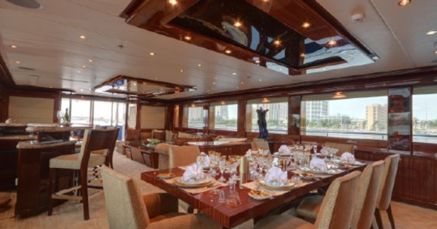 LUXURY MOTOR YACHT CHARTER IN THE CARIBBEAN