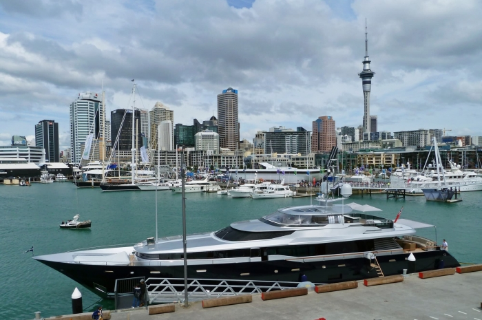 Auckland boat